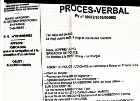 Un ex-boxeur français maîtrise un forcené — Vol Paris-Munich