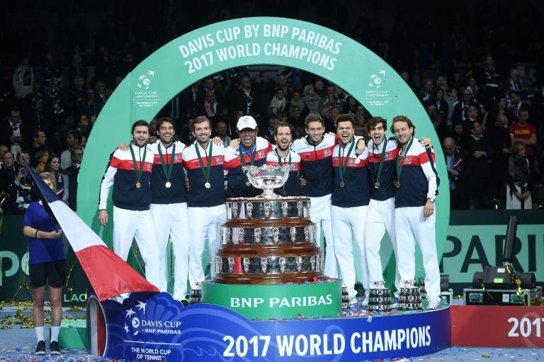 Coupe Davis: Lille, terre d'accueil pour l'équipe de France de