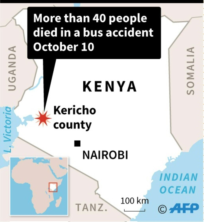 RTL Today - Kenya bus accident: More than 40 dead