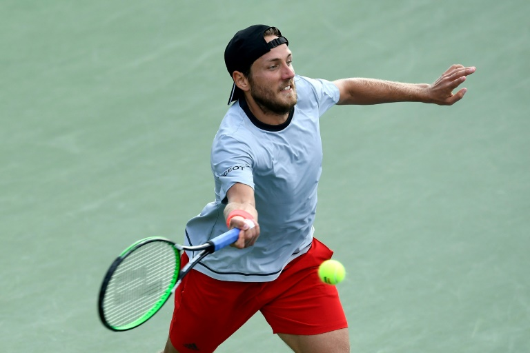 Tennys Sandgren surprend Lucas Pouille à Stockholm — Tennis ATP
