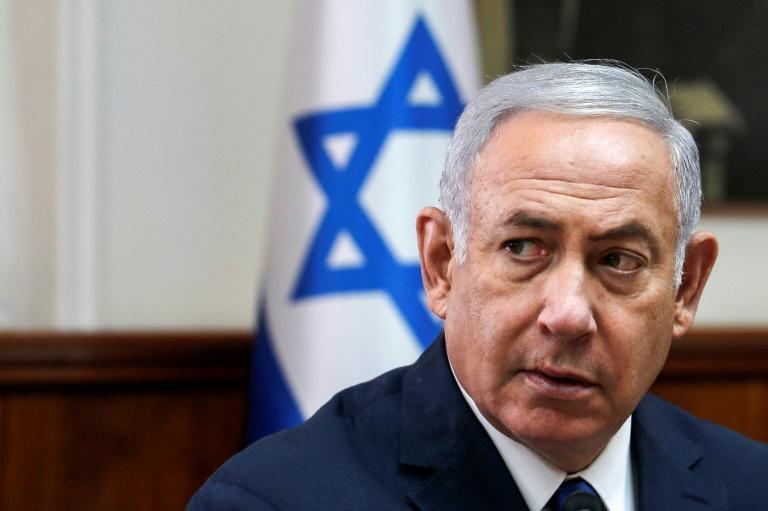 Le Premier ministre israélien Benjamin Netanyahu à Jérusalem lors du conseil des ministres le 5 septembre 2018