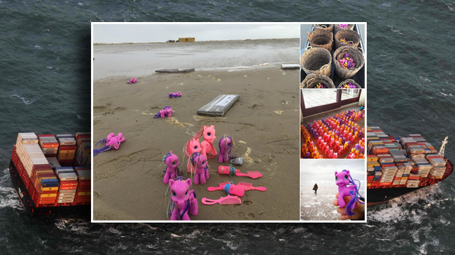 Rtl Today North Sea Hundreds Of Containers Fall Off