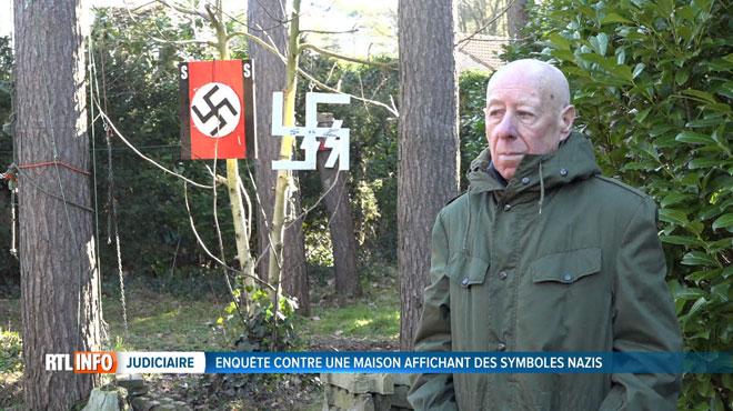Brabant Flamand: Maison décorée aux symboles nazis, il risque 1 an de prison