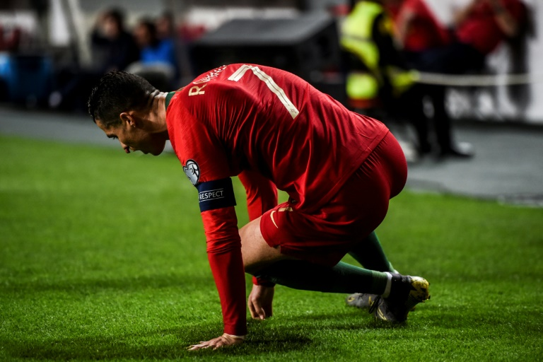 Qualifs de l'Euro 2020 :Cristiano Ronaldo sort sur blessure