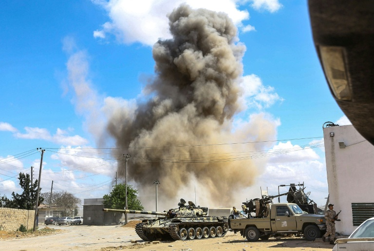 Battle for control: Death toll tops 200 in battle for Libya's Tripoli: WHO