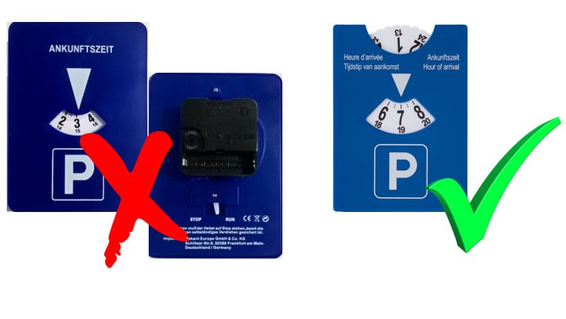 rtl 5minutes rappel de la police les disques de stationnement lectroniques sont interdits au. Black Bedroom Furniture Sets. Home Design Ideas