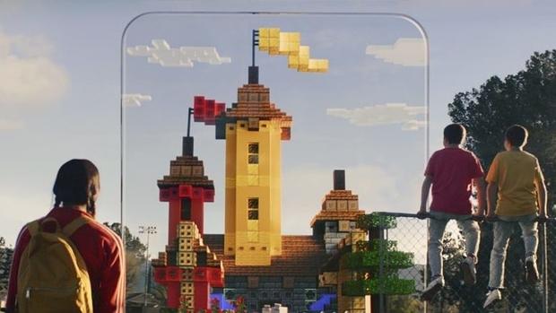 Jeux vidéo :Après Pokémon GO, c'est Minecraft qui se met à la réalité augmentée