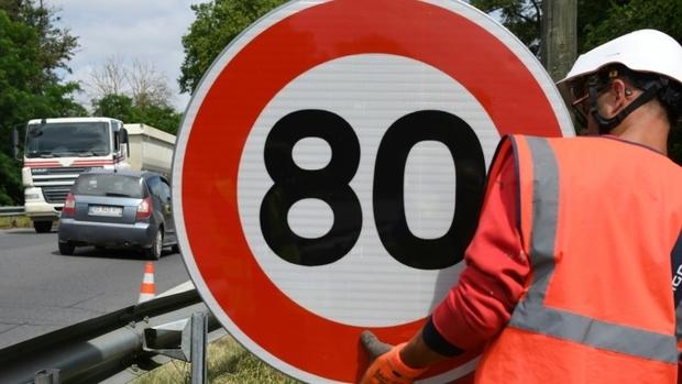 """Sécurité routière :Environ """"90%"""" des routes de Moselle pourraient repasser à 90 km/h"""