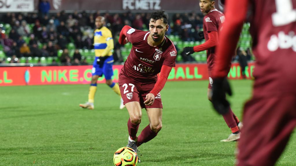 Football :Boulaya prolonge à Metz jusqu'en 2022