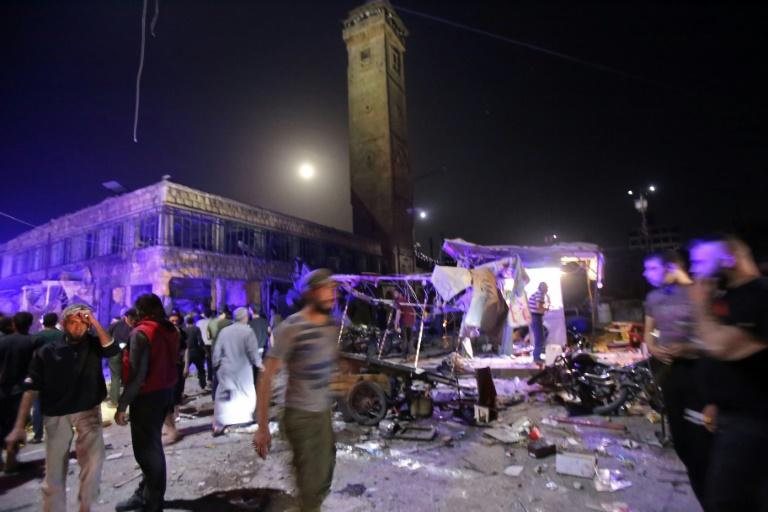 RTL Today - Market attack: Deadly strike hits Syria market