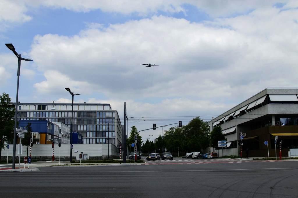 Luxembourg-Ville :Des avions militaires survolent la capitale