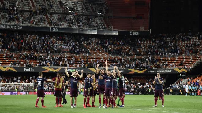 Europa League :La finale entre Arsenal et Chelsea fait un flop: le stade à moitié vide?