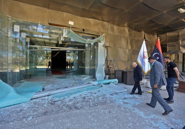 Army blamed: Rocket hits Libya HQ of anti-Haftar lawmakers: witnesses