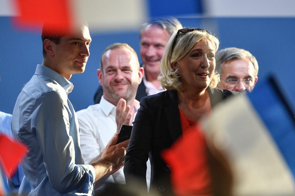 En France :Le Rassemblement national en tête des élections