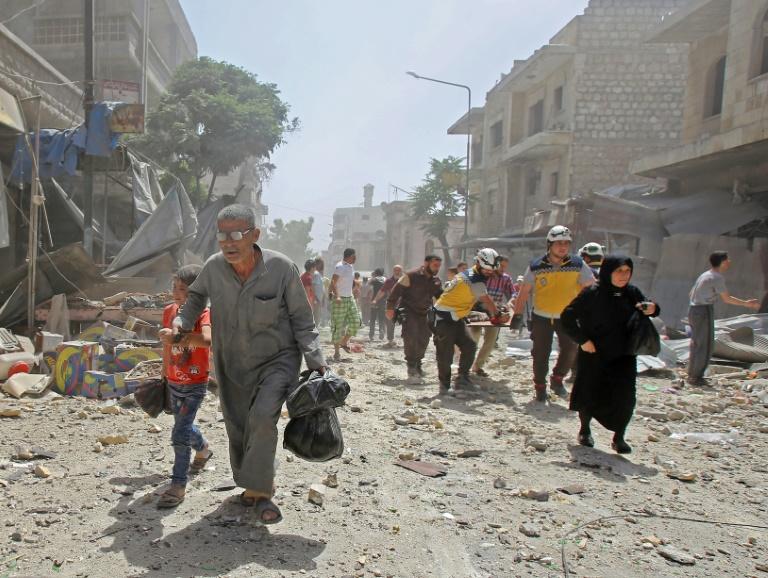 RTL Today - Air strikes: Damascus pounds jihadist-run