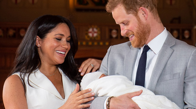 Fête des pères :Meghan et Harry dévoilent une nouvelle photo d'Archie