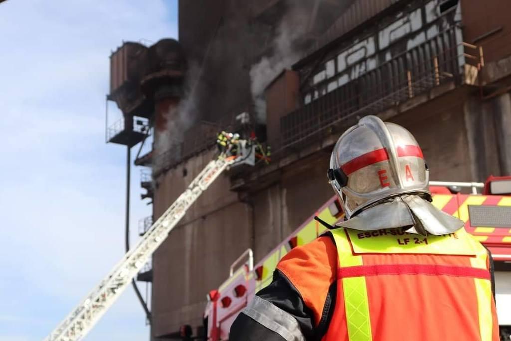 Cette nuit :Incendie dans une usine à Esch-sur-Alzette