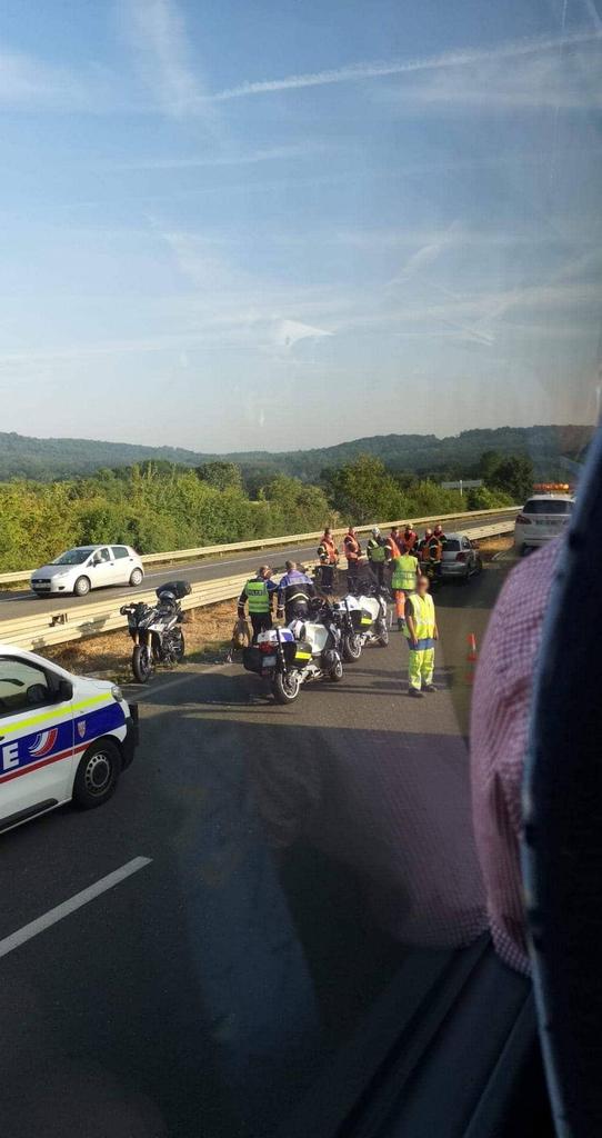 Faits divers :Un motard blessé dans un accident ce matin sur l'A31