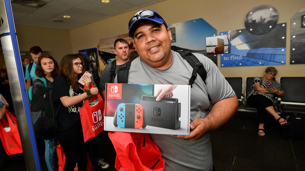 Insolite :Nintendo offre des Switch aux passagers d'un avion