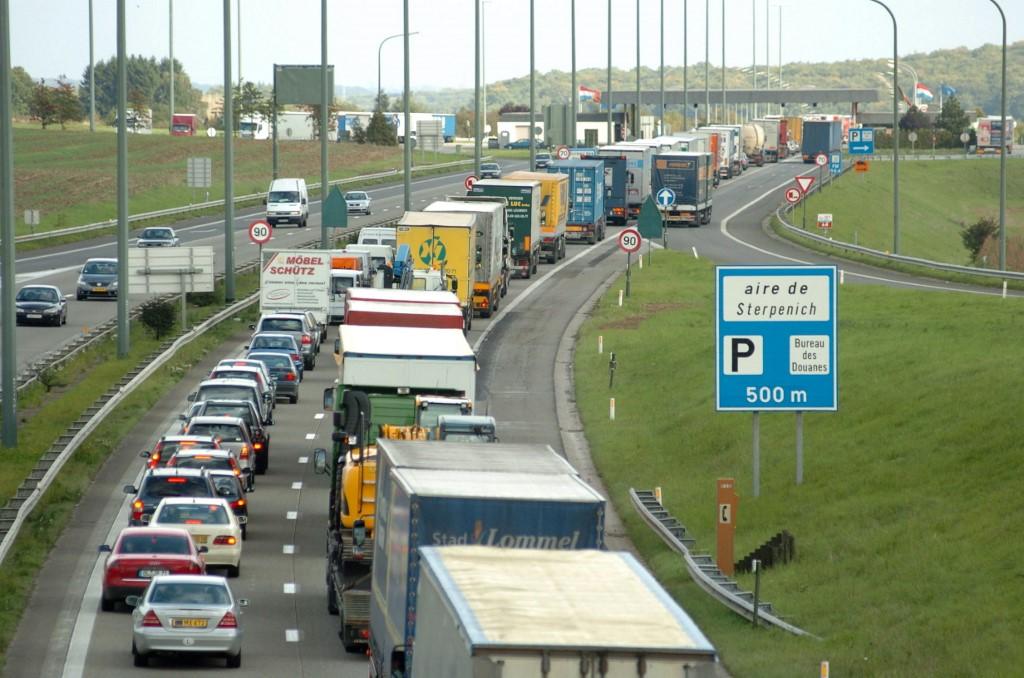 Autoroute E411 :Les travaux à Sterpenich commencent aujourd'hui