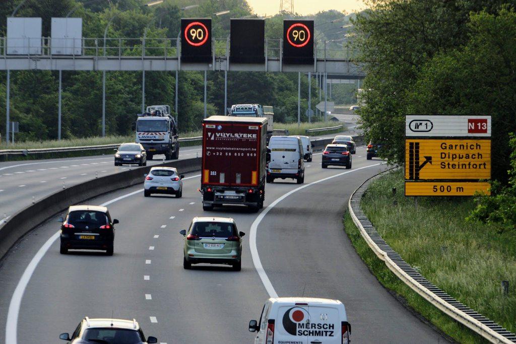 Ça recommence :L'A6 et une partie de l'A1 limitées à 90 km/h