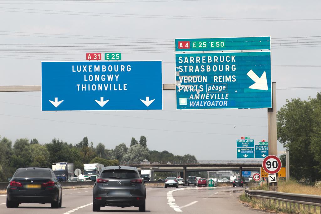 "Direction Luxembourg :L'A31 sera ""coupée"" cette nuit"