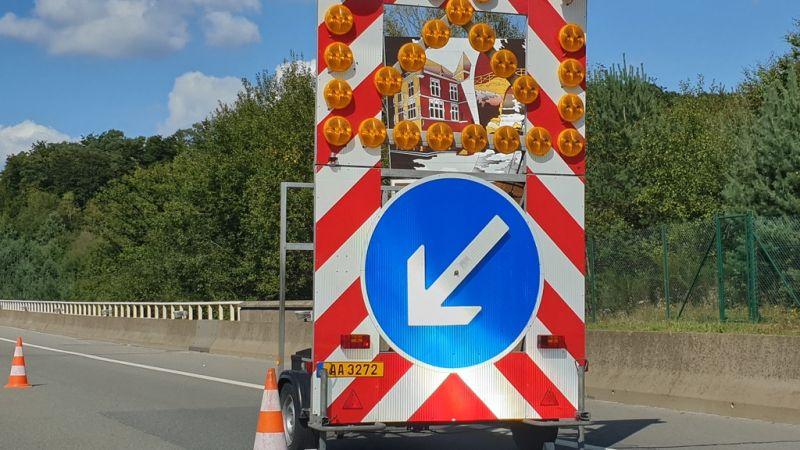Chantiers en cours :Les autoroutes vers la Belgique et vers le nord partiellement fermées