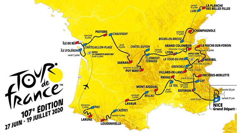 2020 Tour De France Stages.Rtl Today Tour De France 2020 Grand Depart In Nice