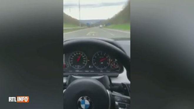 Belgique :Il se filme à 234 km/h, la justice lui retire son permis pour six mois