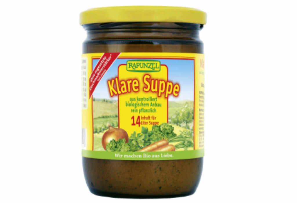 Rappel de produits :La soupe ne passe pas