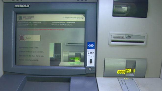 Après deux attaques au Luxembourg :Un distributeur de billets cambriolé à l'explosif à Arlon