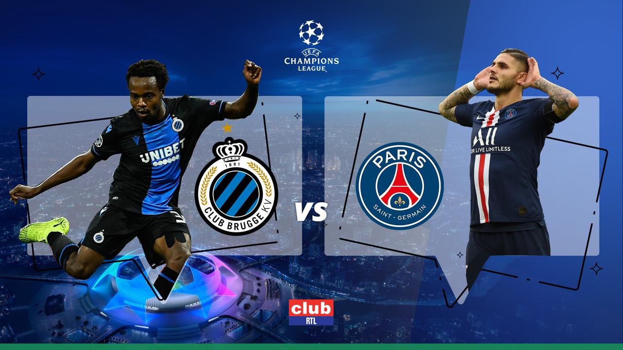 Ligue des Champions :Suivez la rencontre FC Bruges - PSG en direct