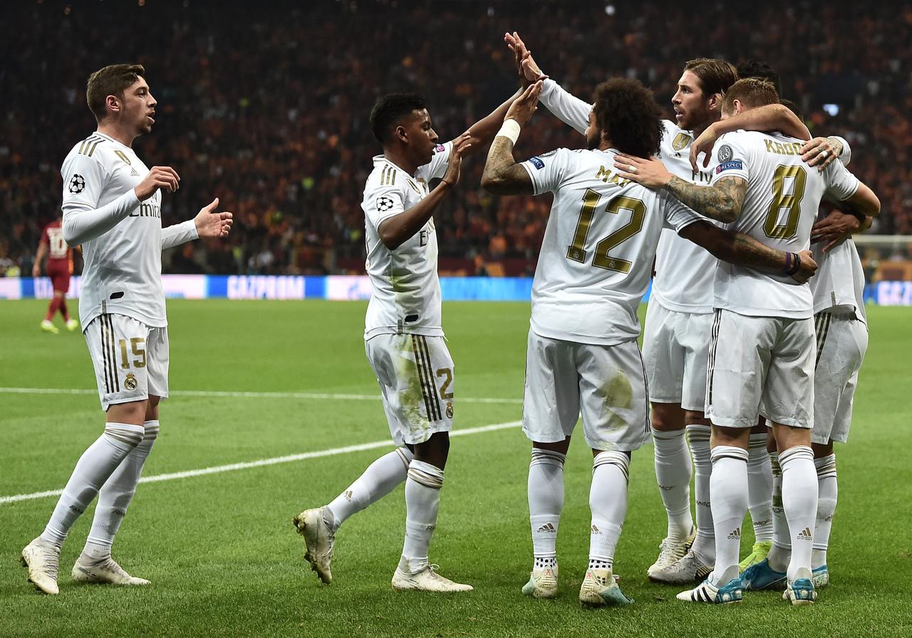Ligue des champions :Le PSG écrase Bruges, le Real gagne enfin