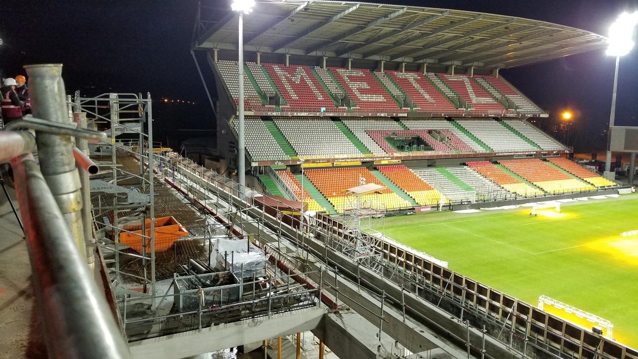 FC Metz :Les dernières images du chantier du stade Saint-Symphorien
