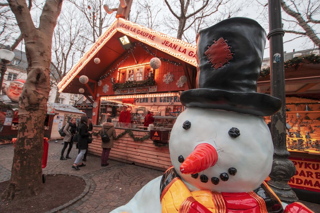 Photos :Ouverture du marché de Noël à Luxembourg