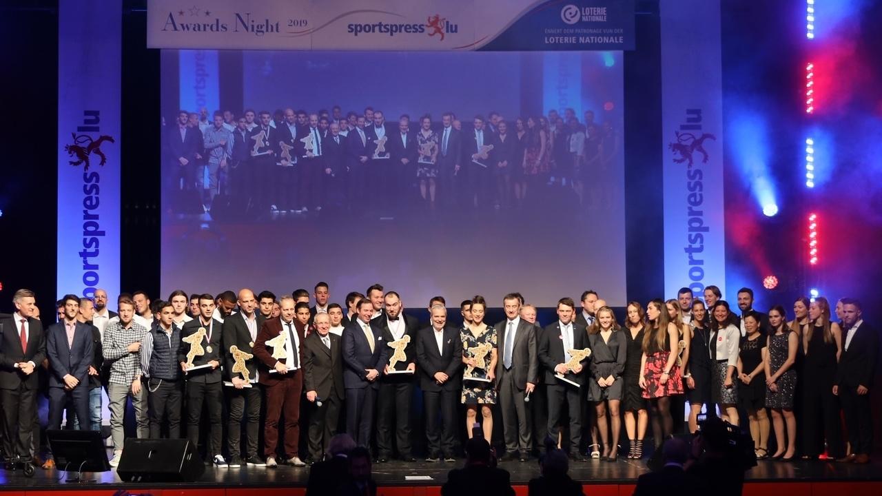 Sportifs et sportives de l'année :Christine Majerus, Bob Bertemes, Luc Holtz et le F91 récompensés