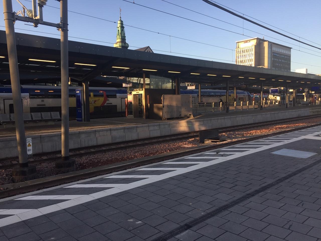 Nouveautés aux CFL :Un nouveau quai à la gare de Luxembourg