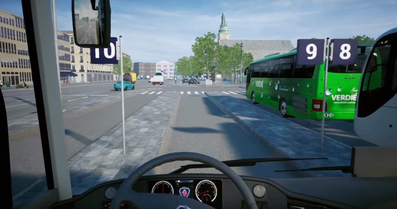 Simulateur de bus :Un jeu vidéo permet de rouler au Luxembourg... sans les bouchons!