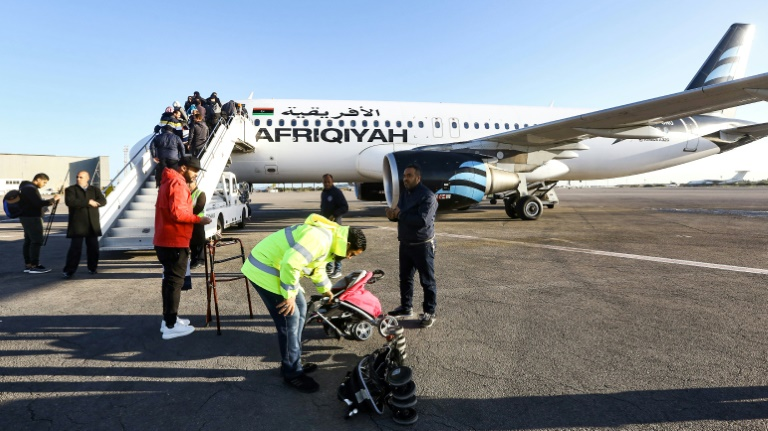 Back in business: War-scarred Libya airport reopens after three-month closure