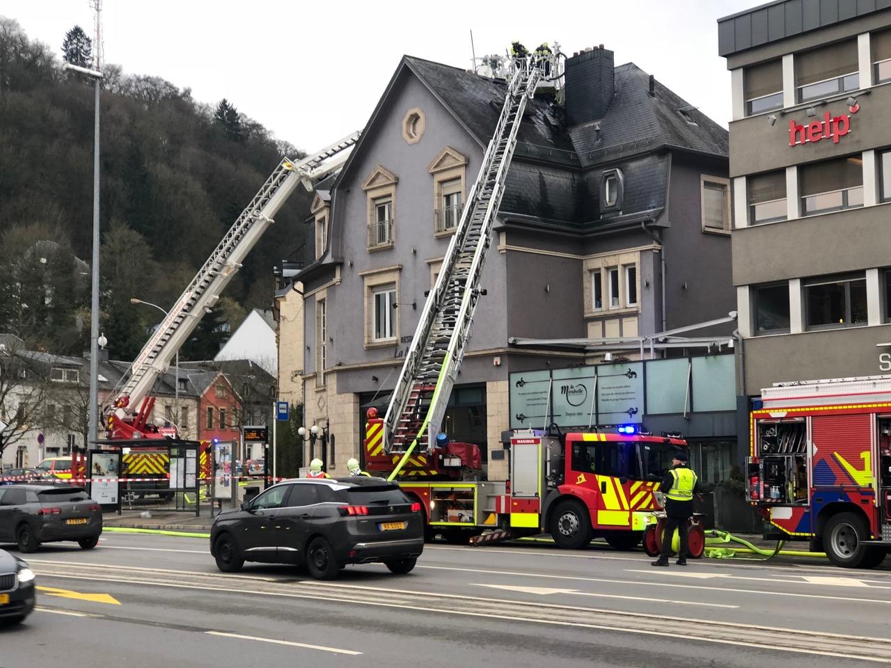 Plus de peur que de mal :Le restaurant La Mirabelle rouvrira après l'incendie
