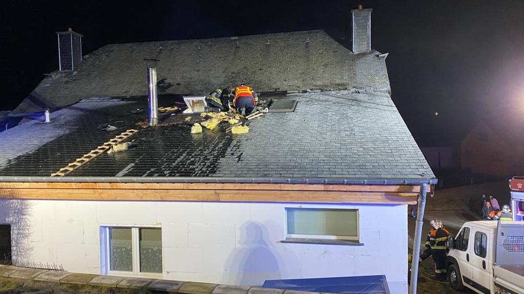 Luxembourg :Un feu de cheminée à Oberwampach fait un blessé
