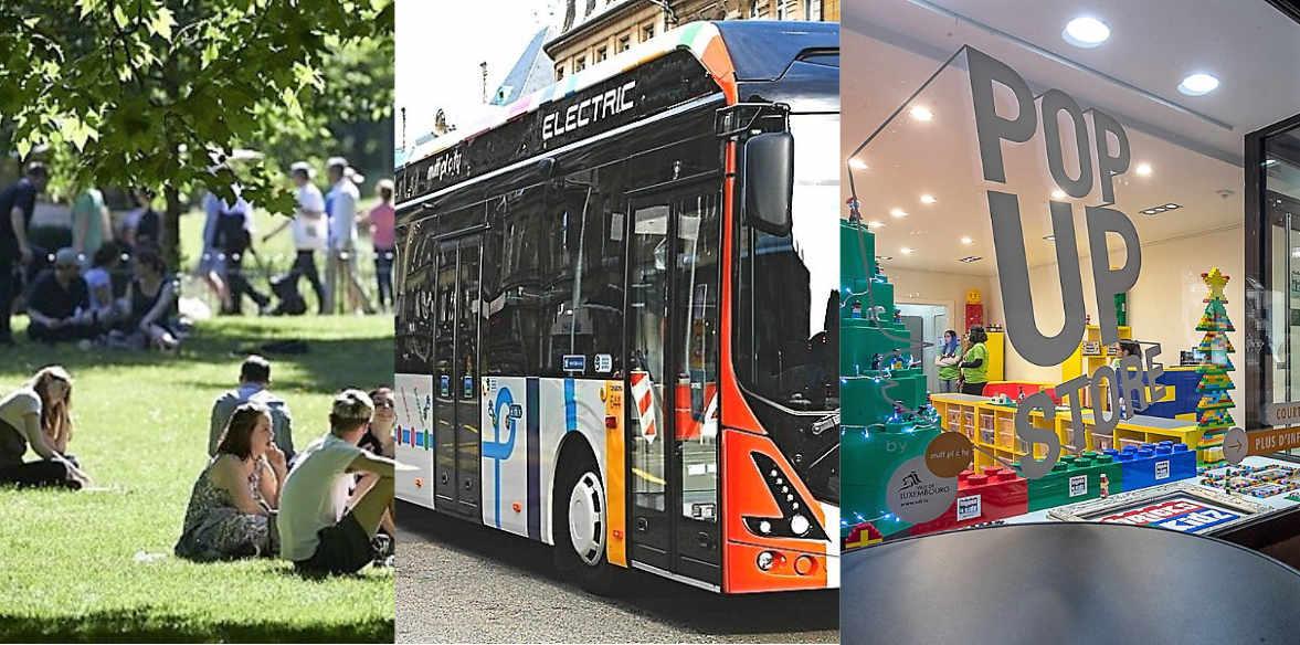 Parc de Gasperich, bus électriques, pop-up stores... :Ça bouge dans la capitale