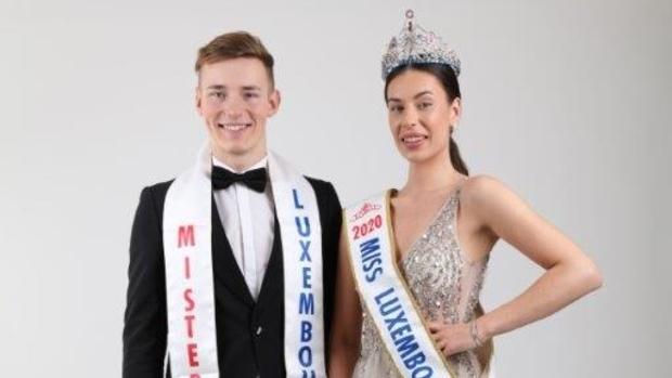 93e édition :Émilie Boland et Max Bidinger sont Miss & Mister Luxembourg 2020