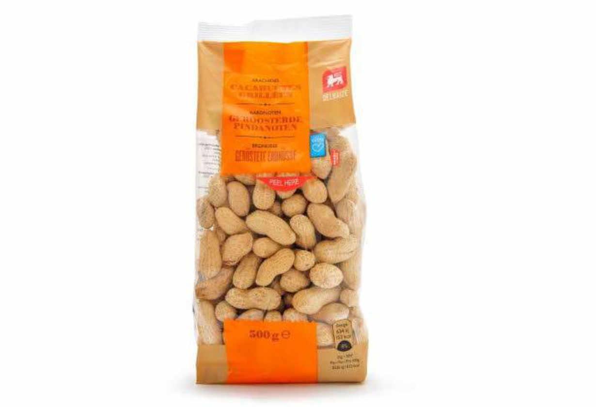 Consommation :Delhaize rappelle des cacahuètes