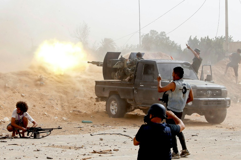 Violent conflict: New clashes in Libya despite UN ceasefire call