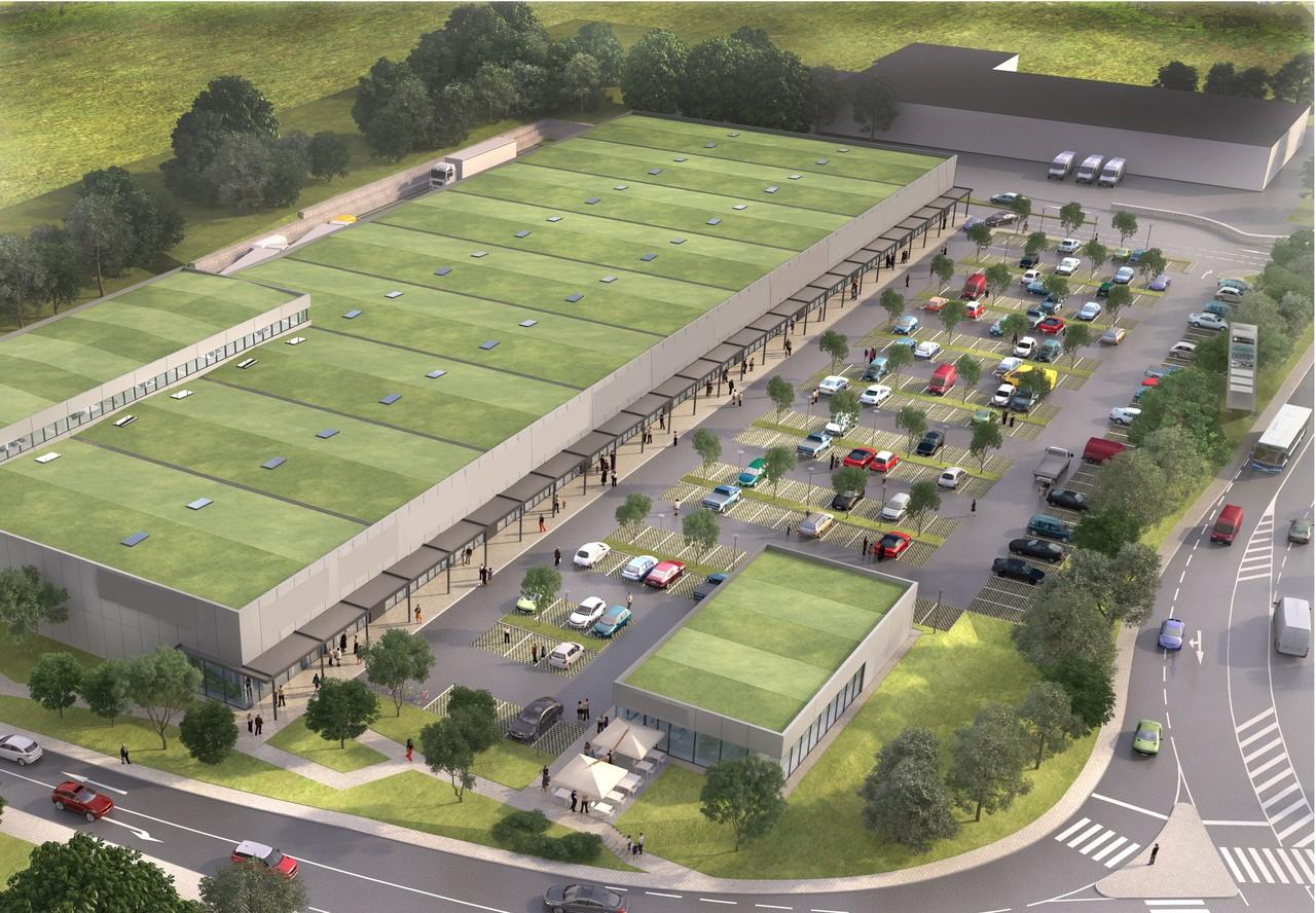 13.000 m2 de magasins :Un nouveau centre commercial va ouvrir à Bettembourg
