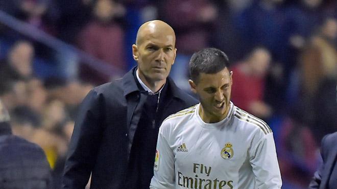 Vers un long forfait? :Le Real Madrid communique sur la blessure d'Eden Hazard