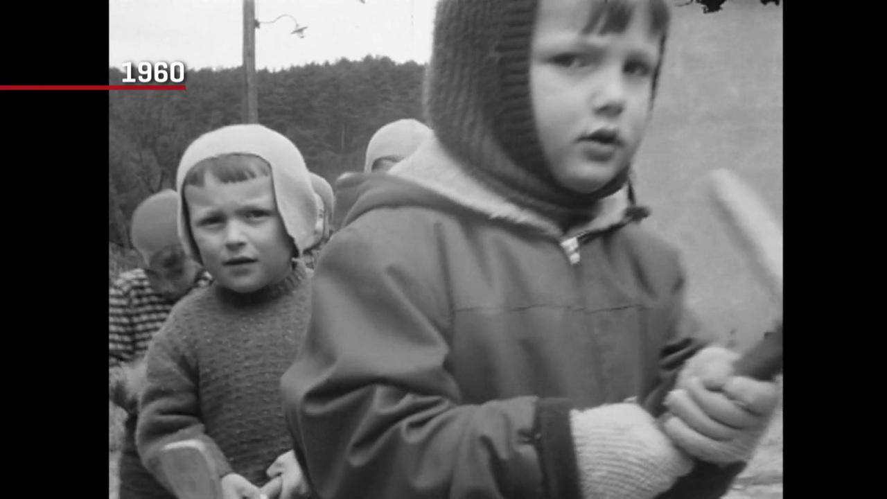 Découvrez les trésors des archives luxembourgeoises :La tradition des crécelles