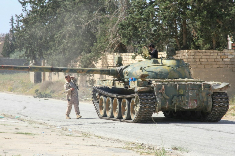 Libya marks year of fighting, fears worse to come