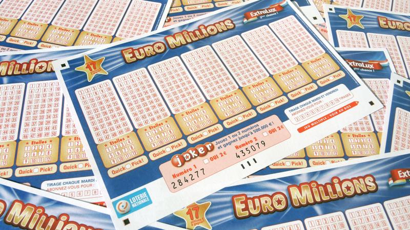 Euro Millions :Pour qui le jackpot de 26 millions d'euros au Luxembourg ?